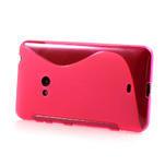 Gelové S-line pouzdro pro Nokia Lumia 625- růžové - 3/6