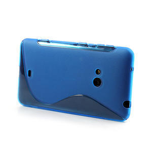 Gelové S-line pouzdro pro Nokia Lumia 625- modré - 3