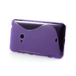 Gelové S-line pouzdro pro Nokia Lumia 625- fialové - 3/6