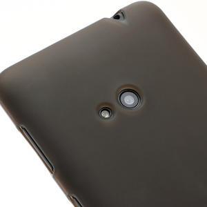Gelové matné pouzdro pro Nokia Lumia 625- šedé - 3