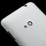 Gelové matné pouzdro pro Nokia Lumia 625- bílé - 3/5