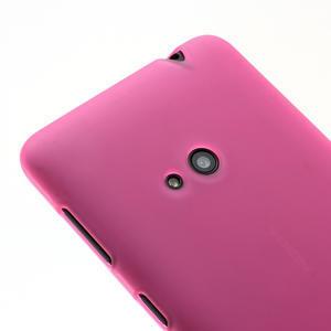 Gelové matné pouzdro pro Nokia Lumia 625- růžové - 3