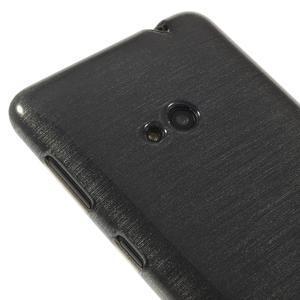 Gelové kartáčové pouzdro na Nokia Lumia 625 - šedé - 3