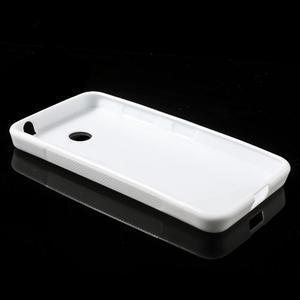 Gelové S-line pouzdro na Nokia Lumia 630- bílé - 3
