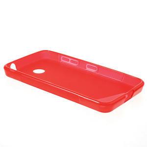 Gelové S-line pouzdro na Nokia Lumia 630- červené - 3