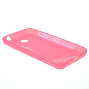 Gelové S-line pouzdro na Nokia Lumia 630- růžové - 3
