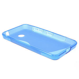 Gelové S-line pouzdro na Nokia Lumia 630- modré - 3