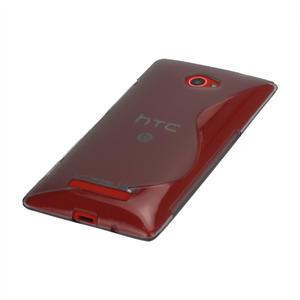 Gelové S-line pouzdro pro HTC Windows phone 8X- šedé - 3
