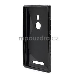 Gelové S-liné pouzdro pro Nokia Lumia 925- černé - 3