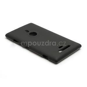 Gelové matné pouzdro pro Nokia Lumia 925- černé - 3