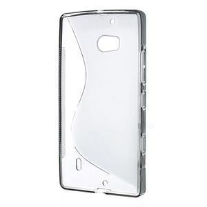 Gelové S-line pouzdro na Nokia Lumia 930- šedé - 3