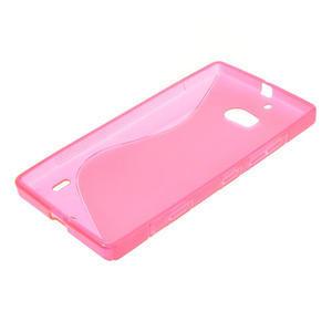 Gelové S-line pouzdro na Nokia Lumia 930- růžové - 3