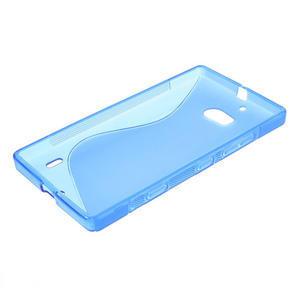 Gelové S-line pouzdro na Nokia Lumia 930- modré - 3
