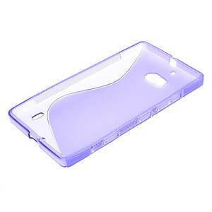 Gelové S-line pouzdro na Nokia Lumia 930- fialové - 3