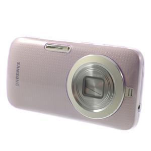 Gelové Ultraslim pouzdro na Samsung Galaxy K Zoom- fialové - 3