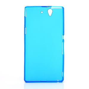 Gelové pouzdro na Sony Xperia Z L36i C6603- modré - 3