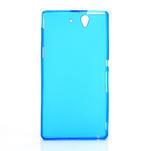 Gelové pouzdro na Sony Xperia Z L36i C6603- modré - 3/7