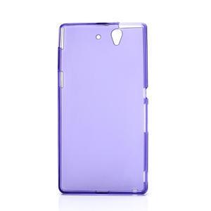 Gelové pouzdro na Sony Xperia Z L36i C6603- fialové - 3