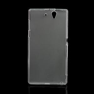 Gelové pouzdro na Sony Xperia Z L36i C6603- transparentní - 3