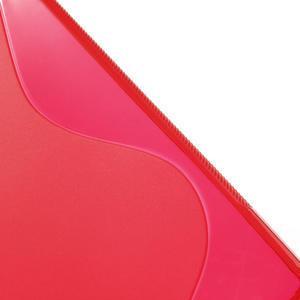 Gelove S-line pouzdro na Sony Xperia Z ultra- červené - 3