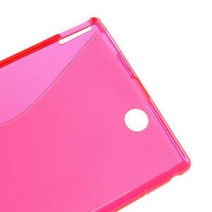 Gelove S-line pouzdro na Sony Xperia Z ultra- růžové - 3