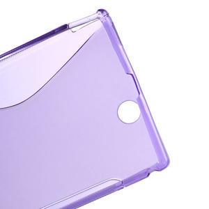 Gelove S-line pouzdro na Sony Xperia Z ultra- fialové - 3
