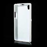 Gelové S-line pouzdro na Sony Xperia Z1 C6903 L39- bílé - 3/5