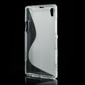 Gelové S-line pouzdro na Sony Xperia Z1 C6903 L39- transparentní - 3
