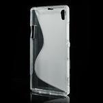 Gelové S-line pouzdro na Sony Xperia Z1 C6903 L39- transparentní - 3/5