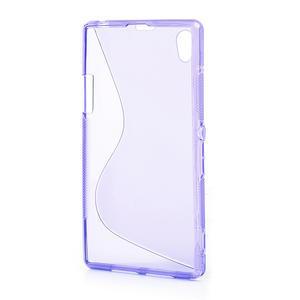 Gelové S-line pouzdro na Sony Xperia Z1 C6903 L39- fialové - 3