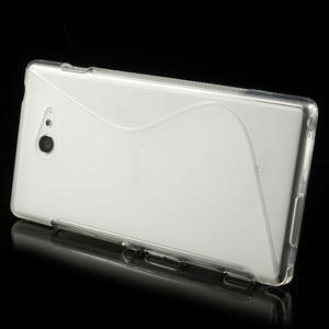 Gelové S-line pouzdro na Sony Xperia M2 D2302- transparentní - 3