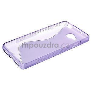 Gelové S-line  pouzdro pro LG Optimus L9 II D605-fialové - 3