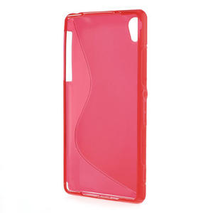 Gelové S-line pouzdro na Sony Xperia Z2 D6503- červené - 3
