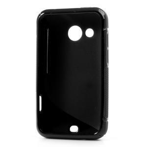Gelové S-line pouzdro pro HTC Desire 200- černé - 3