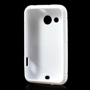 Gelové S-line pouzdro pro HTC Desire 200- bílé - 3
