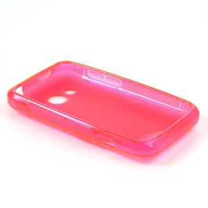 Gelové S-line pouzdro pro HTC Desire 200- růžové - 3
