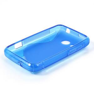 Gelové S-line pouzdro pro HTC Desire 200- modré - 3