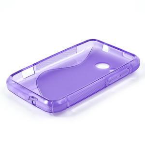Gelové S-line pouzdro pro HTC Desire 200- fialové - 3