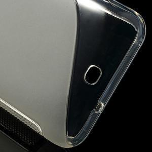 Gelové S-line pouzdro pro HTC Desire 200- transparentní - 3