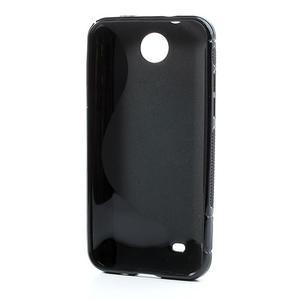 Gelové S-line pouzdro pro HTC Desire 300 Zara mini- černé - 3