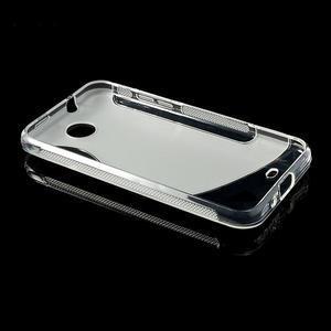 Gelové S-line pouzdro pro HTC Desire 300 Zara mini- transparentní - 3