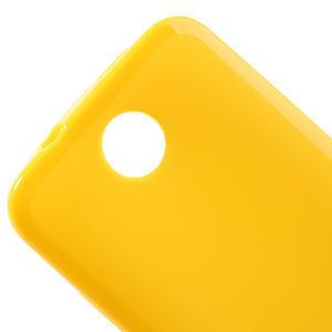 Gelové pouzdro pro HTC Desire 300 Zara mini -žluté - 3