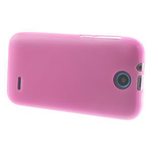 Gelové pouzdro na HTC Desire 310- růžové - 3