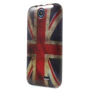 Gelové pouzdro na HTC Desire 310- UK vlajka - 3