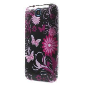 Gelové pouzdro na HTC Desire 310- motýlci - 3