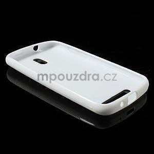 Gelové pouzdro pro HTC Desire 500- bílé - 3