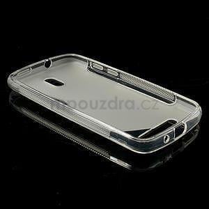 Gelové pouzdro pro HTC Desire 500- transparentní - 3