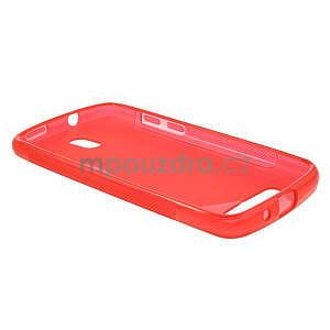 Gelové pouzdro pro HTC Desire 500- červené - 3