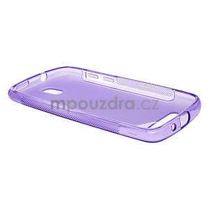 Gelové pouzdro pro HTC Desire 500- fialové - 3
