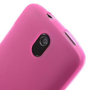 Gelové matné pouzdro pro HTC Desire 500- růžové - 3